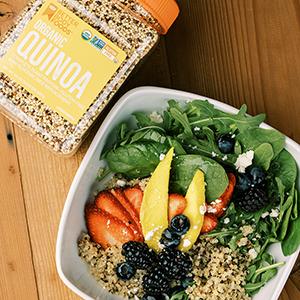 Organic Quinoa BetterBody Foods Salad Gluten Free Paleo