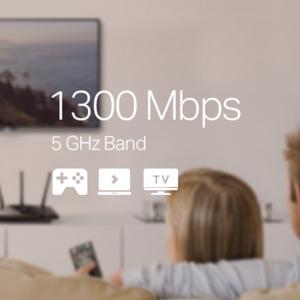 TP-link Archer A7 Router 1750 Mbps Wi-Fi WiFi Wireless Dual Band Gigabit Network Jio Fibre