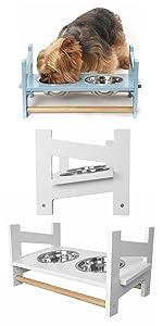 furhaven; product; comparison; chart; feeder; stand; latter; adjustable