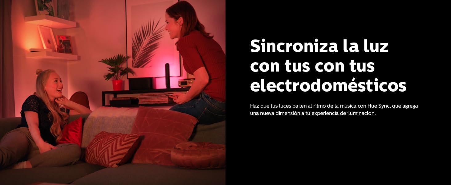 Sincroniza a luz con los electrodomésticos