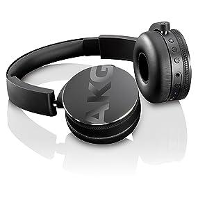 Amazon.com: AKG Bluetooth Headphone Black (Y50BTBLK