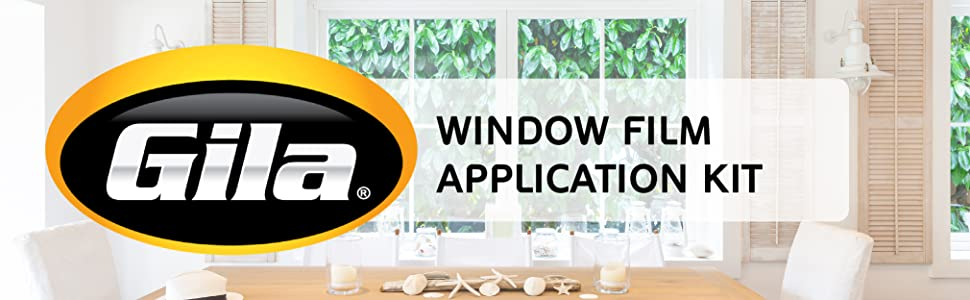 Gila Window Film Installation Application Kit