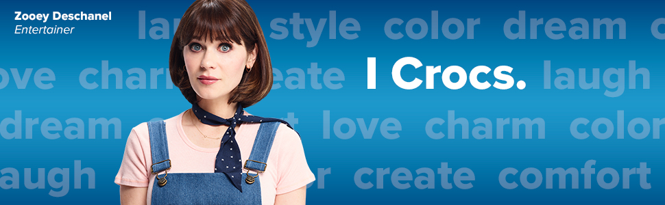 Crocs kids crocband Zooey Deschanel