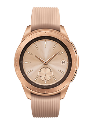 Samsung Galaxy Smartwatch (42mm) Rose Gold (Bluetooth), SM-R810NZDAXAR – US Version with Warranty