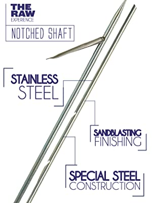 Amazon.com: Cressi Apache Shaft de acero inoxidable: Sports ...