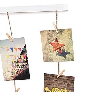 multi photo wall display, picture organizer, photo wall display, photo collage, hanging photo frame