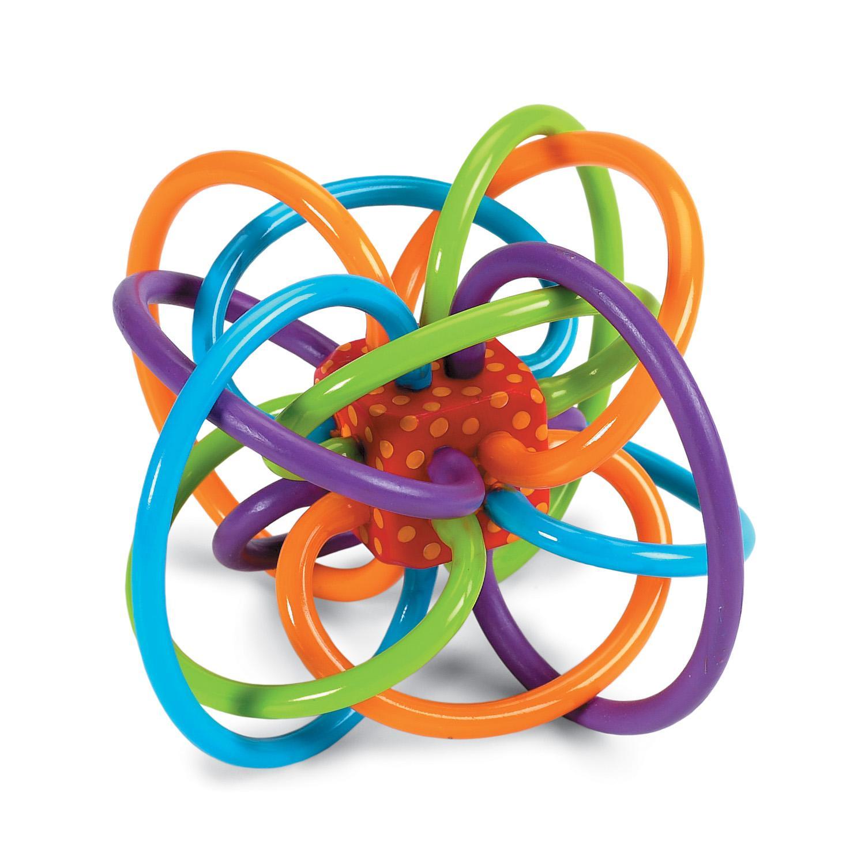 Manhattan Toy Hochet Winkel et jouet de dentition sensoriel Manhattan Toy