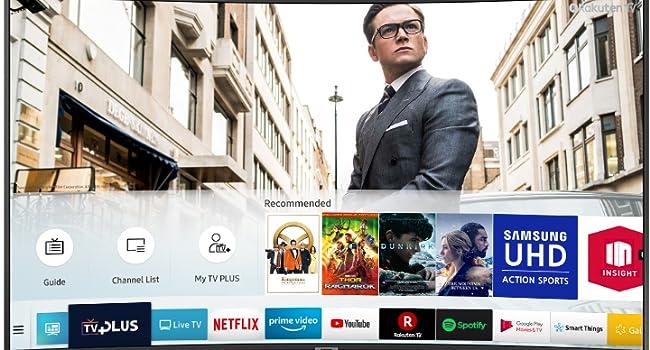 TV Plus; Samsung NU7120