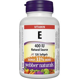 Vitamin E 400 IU Natural Source