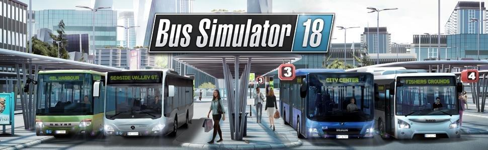 Bus Simulator 18 (PC DVD): Amazon co uk: PC & Video Games
