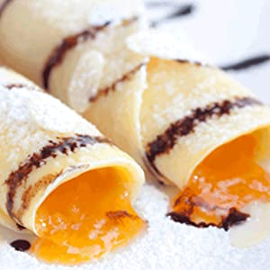 Ball Jam and Jelly Maker Crepes with Fresh Fruit Jam