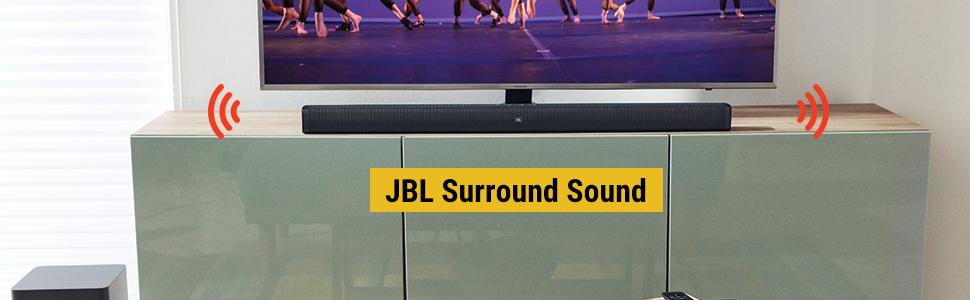 JBL Surround Sound makes movies come alive