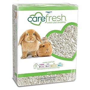 carefresh white paper bedding