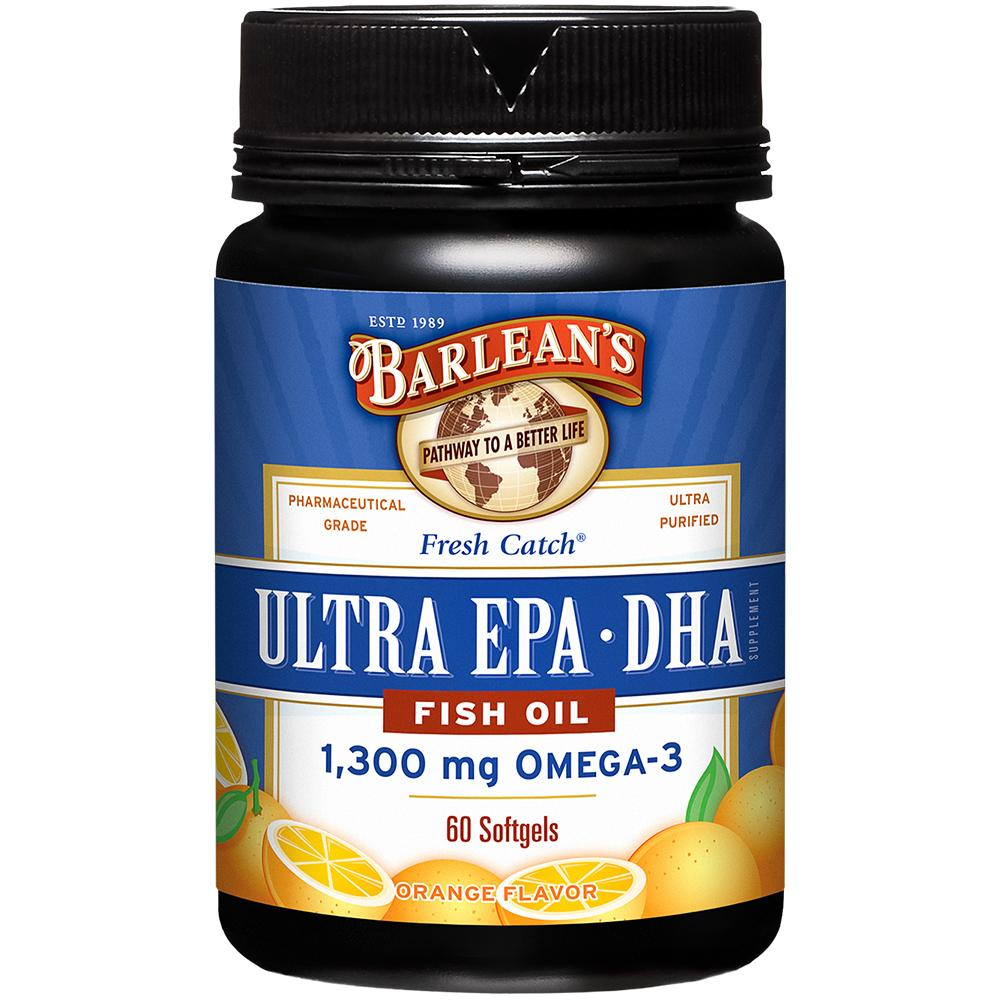Ultra epa dha fish oil softgels 60 ct 2 for Epa dha fish oil