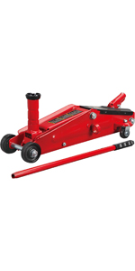 3 Ton Hydraulic Trolley Floor Jack: SUV / Extended Height