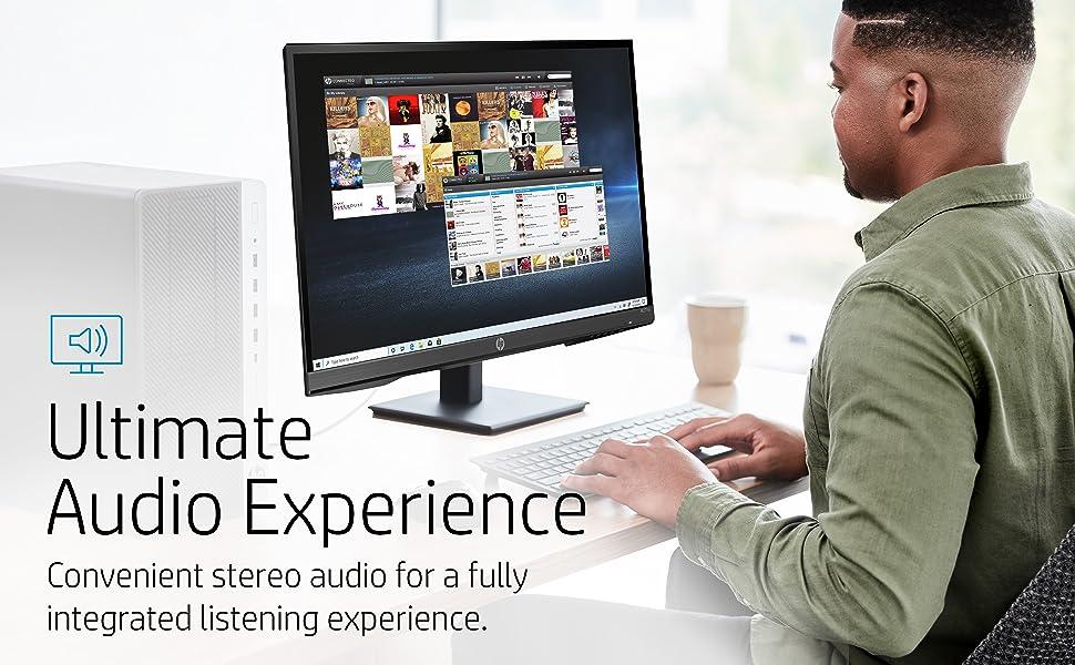HP M27ha FHD Monitor Audio Experience