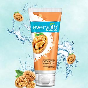 walnut scrub, everyuth walnut scrub, scrub with walnuts, everyuth scrub with walnuts