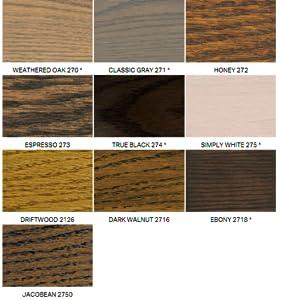 Minwax 227604444 Wood Stain Penetrating Interior Wood