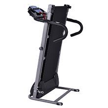 Goplus 1100W Folding Treadmill Electric Motorized Power Fitness Running Machine w/ Support