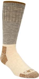 arctic wool boot crew sock