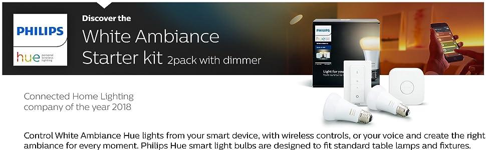 Hue White Ambiance Starter Kit