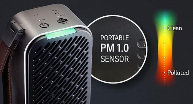 Portable PM 1.0 Sensor