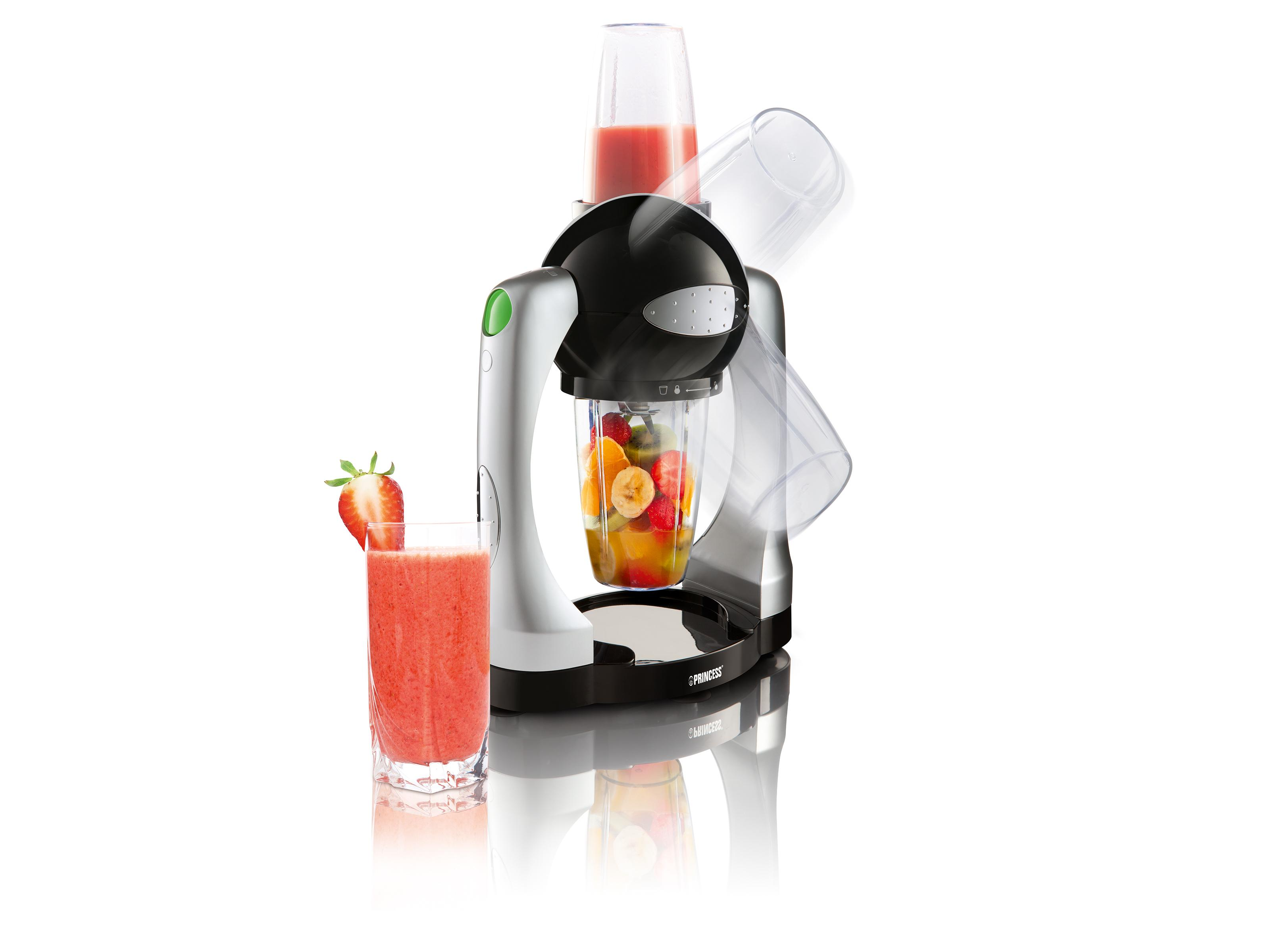 Princess 212063 Batidora para smoothies, potencia turbo, ne