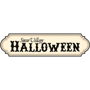 Department 56 Snow Village Halloween Logo