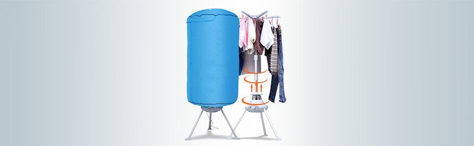 Fengyuanhong Secadora de Ropa Plegable Percha Ni/ños Adultos secador de Ropa Interior a Prueba de Viento Calcetines de pl/ástico Tendedero