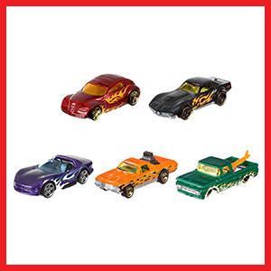 Hot Wheels - Pack de 5 vehículos (modelos variados) (Mattel 1806) , color/modelo surtido: Amazon.es: Juguetes y juegos