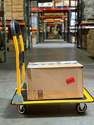MaxWorks Wellmax GoPlus Olympia Magna Giantex Cosco push dolly truck foldable office home warehouse