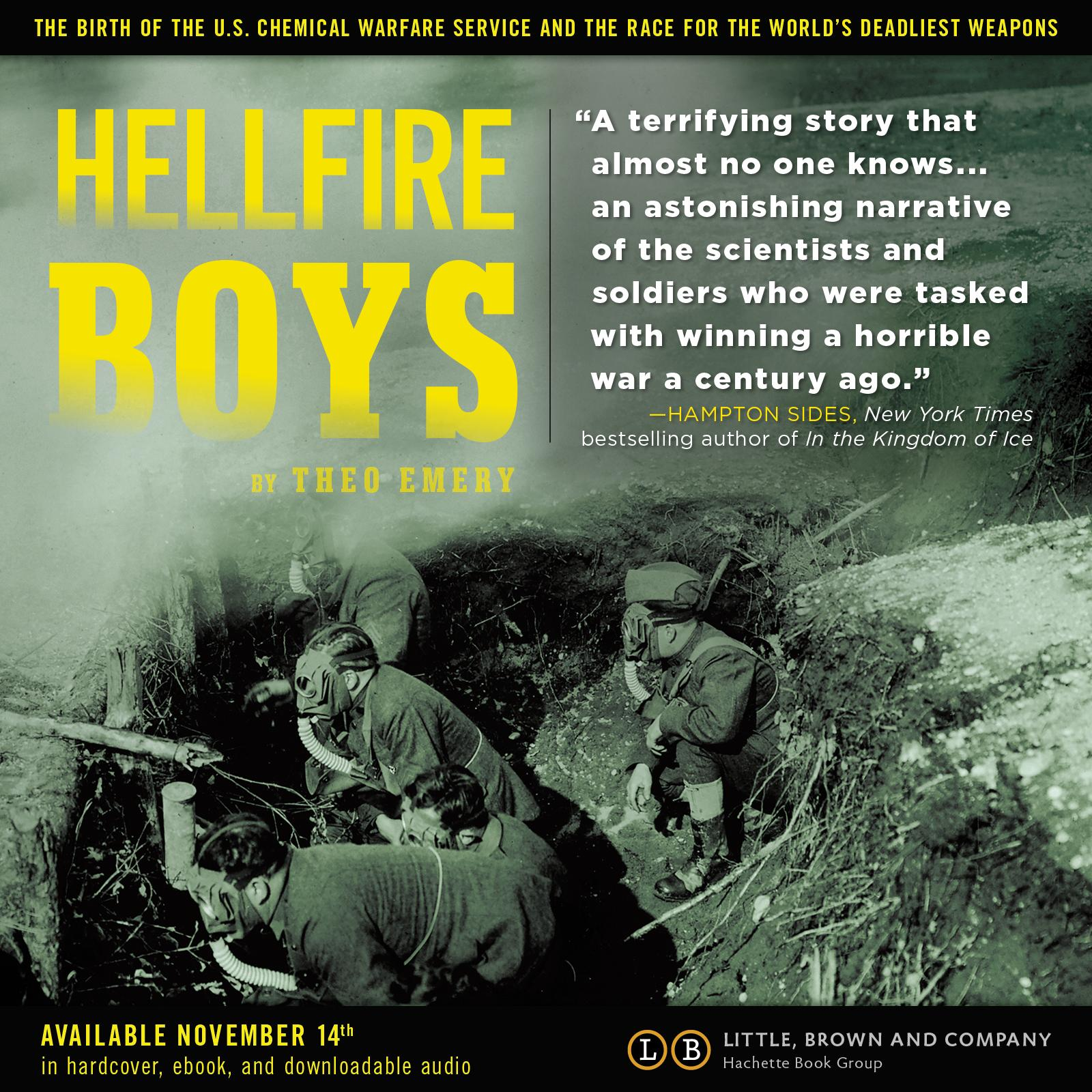 hellfire boys the birth of the us chemical warfare