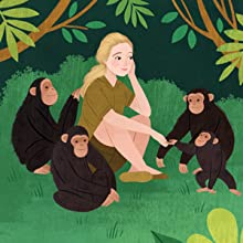 jane goodall, childrens biography books, jane goodall books for kids, jane goodall biography