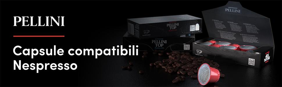 caffè pellini capsule compatibili nespresso