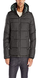 6c3620a15 Tommy Hilfiger Men's Nylon Puffer Jacket · Tommy Hilfiger Men's Classic  Hooded Puffer Jacket · Tommy Hilfiger Men's Nylon Two Pocket Hooded Puffer  Jacket ...