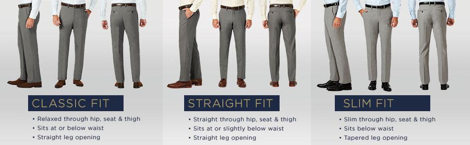 J M Haggar Men S Sharkskin Superflex Waist Flat Front Dress Pant At Amazon Men S Clothing Store