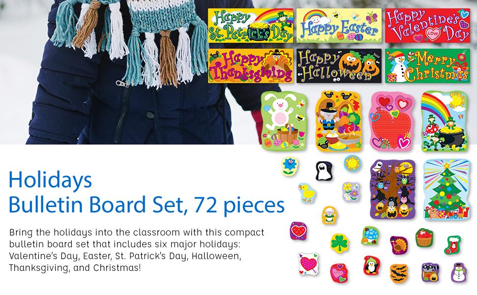 Holidays bulletin board sets