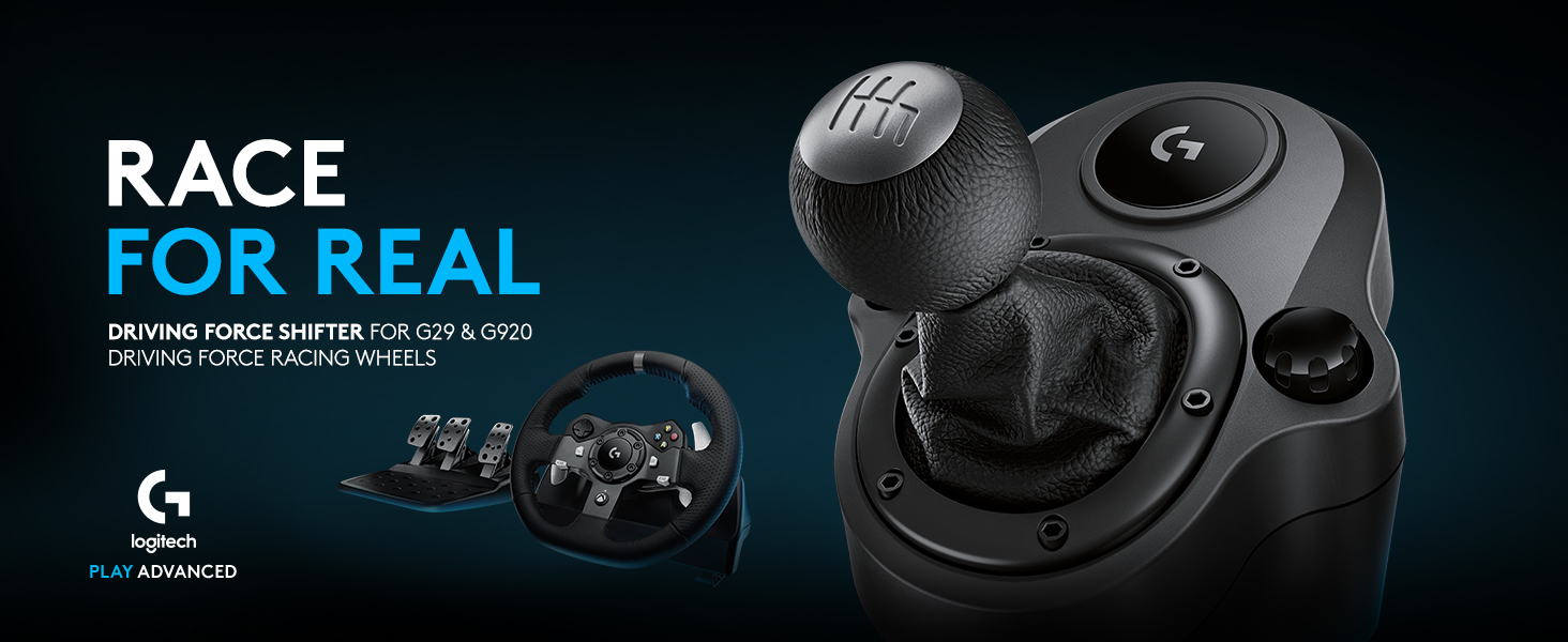 01f590a2dde Amazon.com: Logitech G Gaming Driving Force Shifter – Compatible ...