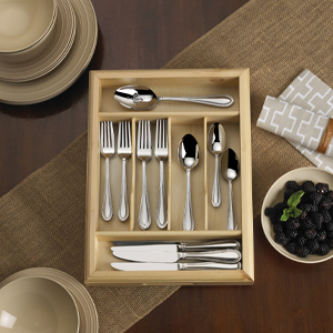 mikasa flatware; silverware; place setting; table setting; utensils