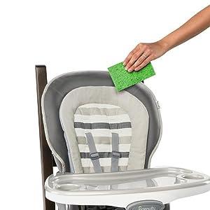 Amazon Com Ingenuity Trio Wood 3 In 1 High Chair Baby