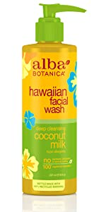 Hawaiian Coconut Milk Facial Wash