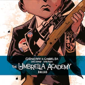 Gerard Way, Gabriel Ba, Umbrella Academy, Bio, Hotel Oblivion, Apocalypse Suit, Dallas