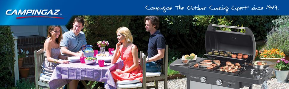 Campingaz 2 Series Classic EXS Vario Barbacoa de gas con 2 ...