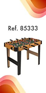 ColorBaby - Futbolín de madera plegable CBGames (85332): Amazon.es ...