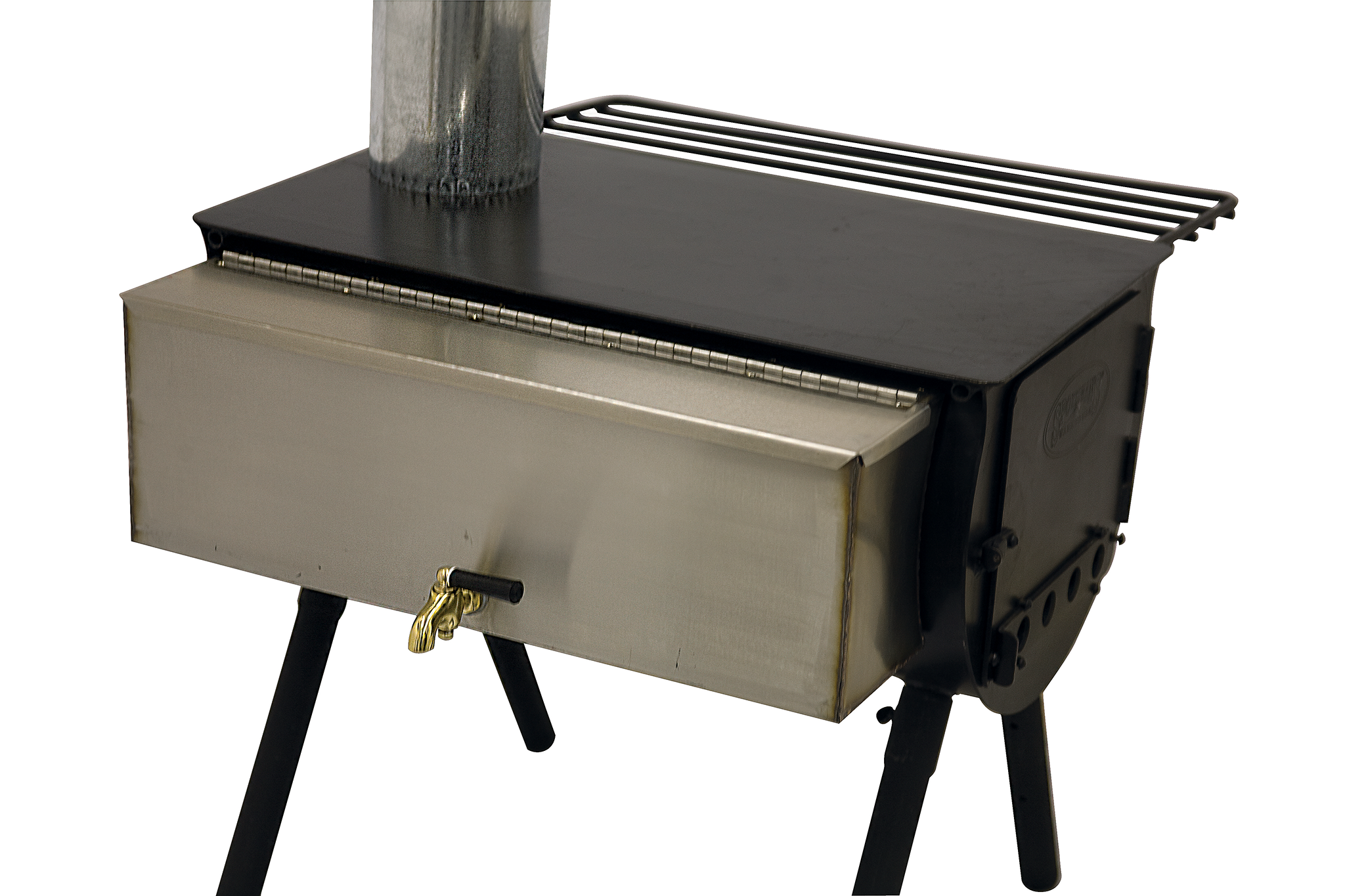 Stove for bath with tank: photo, video review 11