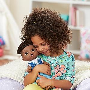 Amazon Com Baby Alive Sweet Spoonfuls Baby Doll Boy Aa