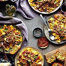 pappardelle, pork ragu, recipe, pasta, spice, seasoning