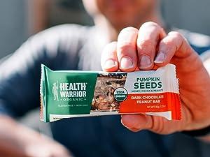 health warrior pumpkin seed protein bars