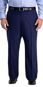 Big amp; tall pant, Big amp; tall suit separate pant, mens suit pant, Active Series pant, Haggar