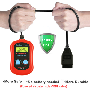 MS300 OBD Code Reader Safe and Durable